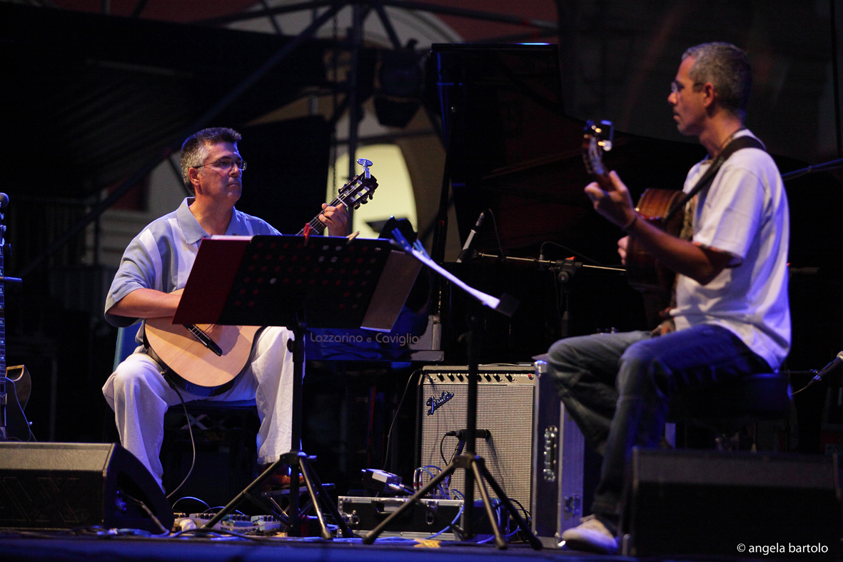 IL DUO TAUFIC / TESSAROLLO A JAZZ AROUND YOU