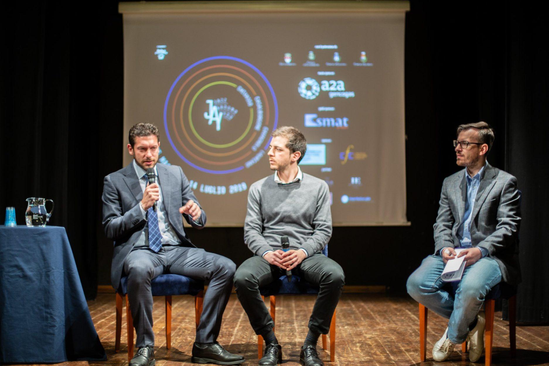 Teatrino civico di Chivasso durante la conferenza stampa JAY 2019