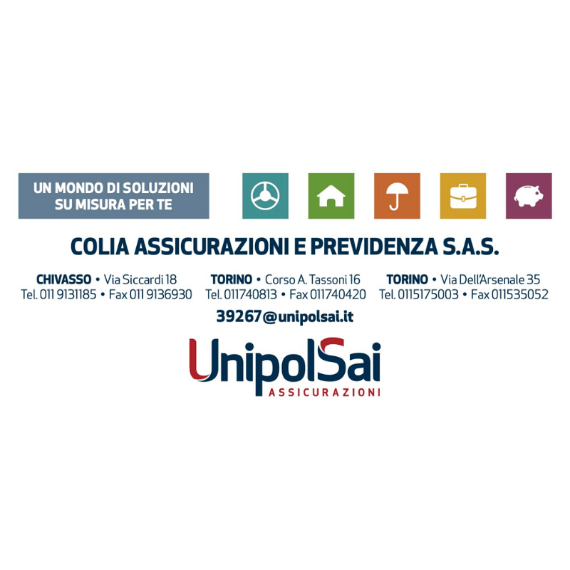 Logo UnIpol Sai Colia Assicurazioni- Sponsor Jazz Around You 2019
