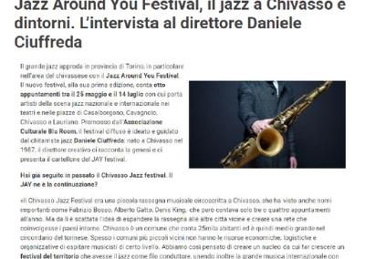 Intervista di Mentelocale Torino al direttore artistico Jazz Around You
